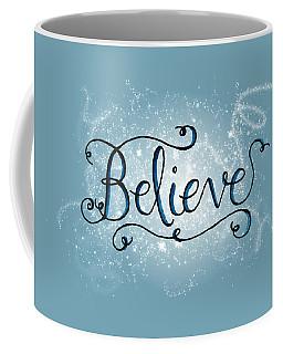Believe Winter Art Coffee Mug