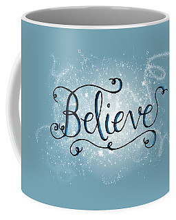 Believe Winter Art Coffee Mug