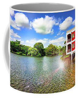 Belize River House Reflection Coffee Mug