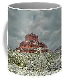 Bell In Winter Coffee Mug by Tom Kelly