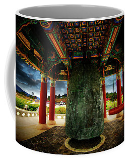 Coffee Mug featuring the photograph Bell Of Friendship 2 by Joseph Hollingsworth