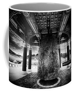 Coffee Mug featuring the photograph Bell Of Friendship B W  by Joseph Hollingsworth