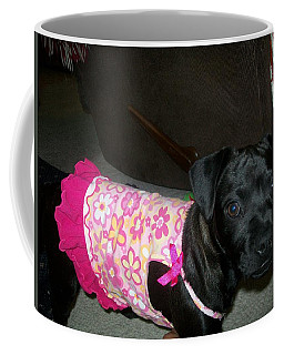 Bella In Swimsuit Coffee Mug by Jewel Hengen