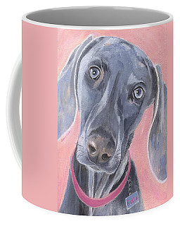 Coffee Mug featuring the painting Bella by Jamie Frier