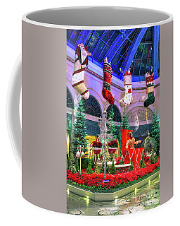 Bellagio 4 Giant Christmas Stockings Coffee Mug