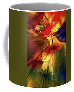 Bellagio Ceiling Sculpture Abstract Coffee Mug by Stuart Litoff