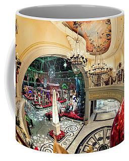 Bellagio Christmas Decorations From The Balcony 2017 Coffee Mug