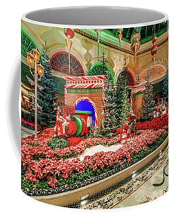 Bellagio Christmas Train Decorations Angled 2017 Coffee Mug