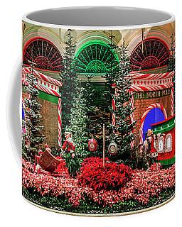 Bellagio Christmas Train Decorations Panorama 2017 Coffee Mug