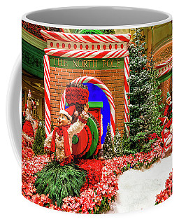 Bellagio Christmas Train North Pole Decorations 2017  Coffee Mug
