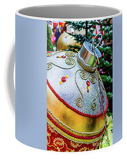 Bellagio Giant Gold Christmas Ornament  Coffee Mug