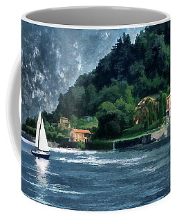 Bellagio Villa Coffee Mug by Jim Hill