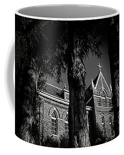 Coffee Mug featuring the photograph Belmont Abbey by Jessica Brawley