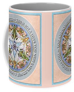 Beloved Mandala Prayer Coffee Mug