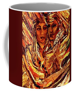 Coffee Mug featuring the painting Beloved Woman by Dawn Fisher
