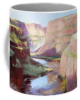 Below Palouse Falls Coffee Mug