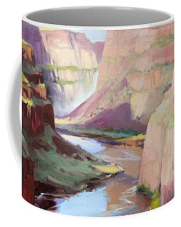 Below Palouse Falls Coffee Mug