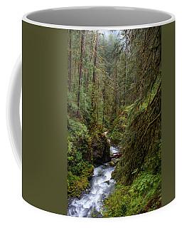 Below The Falls Coffee Mug by David Andersen