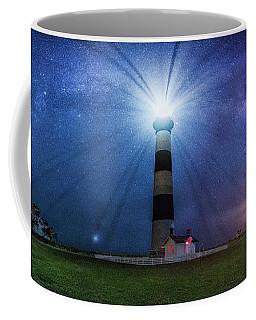 Below The Milky Way At Bodie Island Light House Coffee Mug by Robert Loe