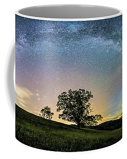 Below The Milky Way At The Blue Ridge Mountains Coffee Mug