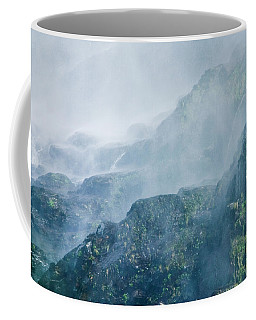 Below Wallace Falls Coffee Mug