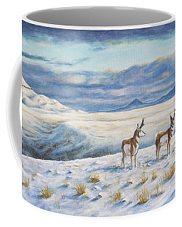 Belt Butte Winter Coffee Mug by Kim Lockman