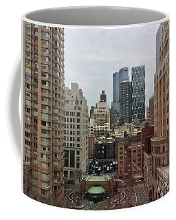 Belvedere Hotel New York City  Room With A View Coffee Mug