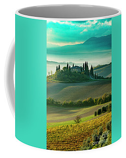 Coffee Mug featuring the photograph Belvedere - Tuscany II by Brian Jannsen