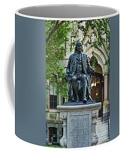 Ben Franklin At The University Of Pennsylvania Coffee Mug