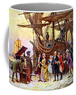 Ben Franklin Returns To Philadelphia Coffee Mug