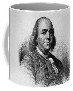Coffee Mug featuring the photograph Ben Franklin by Richard W Linford
