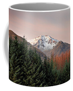 Coffee Mug featuring the photograph Ben Lui Sunrise by Grant Glendinning
