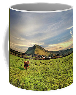 Benbulben From Henry's Bar Coffee Mug