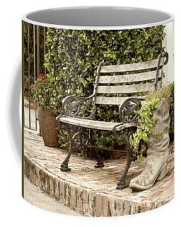 Bench And Boot 2 Coffee Mug