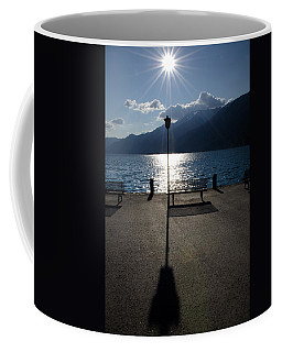 Bench And Street Lamp Coffee Mug