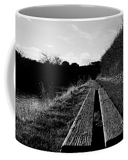 Coffee Mug featuring the photograph Bench by Keith Elliott