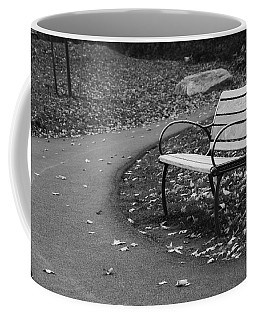 Bench On The Walk Coffee Mug
