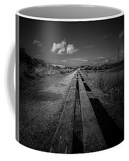 Coffee Mug featuring the photograph Benches by Keith Elliott