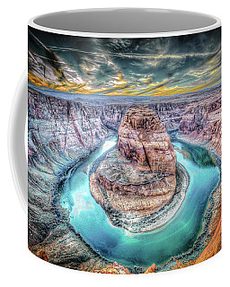 Bend In The River Coffee Mug by Mark Dunton