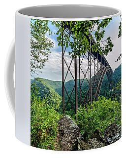 Beneath New River Gorge Bridge Coffee Mug