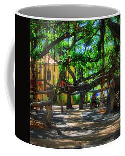 Beneath The Banyan Tree Coffee Mug by DJ Florek