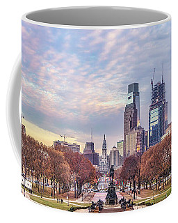 Beneath The Blushing Skies Coffee Mug