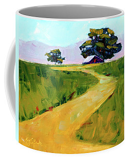 Beneath The Cottonwoods Coffee Mug