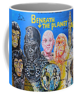 Beneath The Planet Of The Apes - 1970 Lobby Card That Never Was Coffee Mug