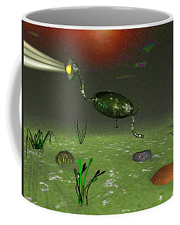 Coffee Mug featuring the photograph Beneath The Sea by Mark Blauhoefer