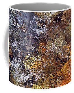 Beneath The Surface Coffee Mug by Lynda Lehmann