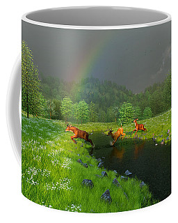 Beneath The Waning Mist Coffee Mug
