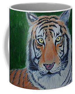 Coffee Mug featuring the painting Bengal Tiger by Stacy C Bottoms