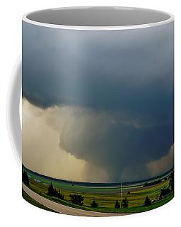 Coffee Mug featuring the photograph Bennington-chapman Tornado by Ed Sweeney