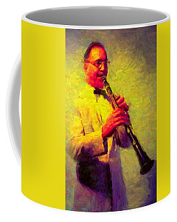Benny Goodman Coffee Mug by Caito Junqueira
